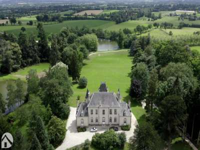 Image 2   8 bedroom French chateau for sale with 32 hectares of land, Laval, Mayenne , Pays-de-la-Loire 228033