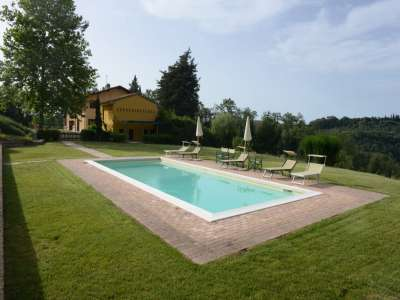 Image 3   6 bedroom farmhouse for sale with 93 hectares of land, Peccioli, Pisa, Tuscany 228608