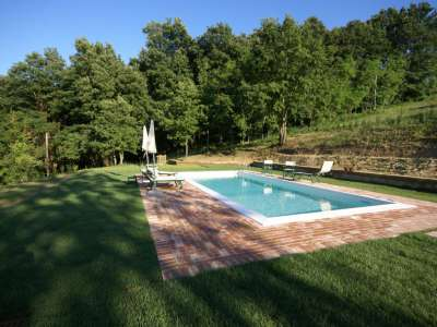 Image 8   6 bedroom farmhouse for sale with 93 hectares of land, Peccioli, Pisa, Tuscany 228608