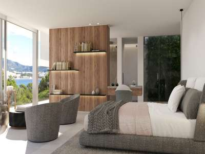 Image 10   4 bedroom villa for sale with 0.21 hectares of land, Santa Ponsa, South Western Mallorca, Mallorca 228617