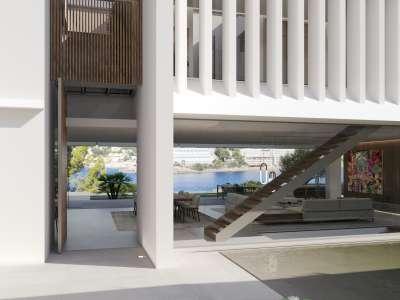 Image 15   4 bedroom villa for sale with 0.21 hectares of land, Santa Ponsa, South Western Mallorca, Mallorca 228617