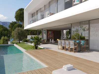 Image 2   4 bedroom villa for sale with 0.21 hectares of land, Santa Ponsa, South Western Mallorca, Mallorca 228617