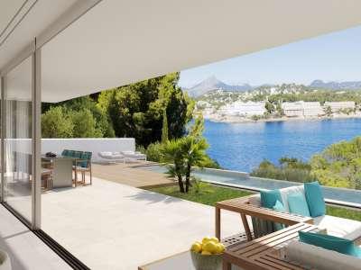 Image 3   4 bedroom villa for sale with 0.21 hectares of land, Santa Ponsa, South Western Mallorca, Mallorca 228617