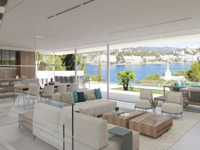 Image 4   4 bedroom villa for sale with 0.21 hectares of land, Santa Ponsa, South Western Mallorca, Mallorca 228617