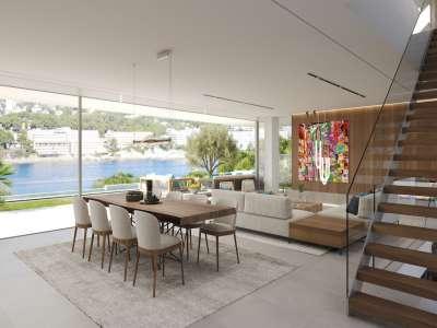 Image 5   4 bedroom villa for sale with 0.21 hectares of land, Santa Ponsa, South Western Mallorca, Mallorca 228617