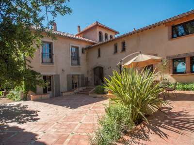 Image 2   7 bedroom villa for sale with 3.4 hectares of land, Perpignan, Pyrenees-Orientales , Languedoc-Roussillon 228633