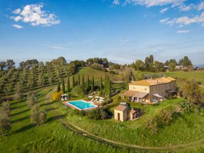 Image 1 | 11 bedroom farmhouse for sale with 15 hectares of land, Pomarance, Pisa, Tuscany 228648