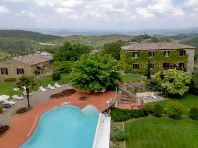 Image 3 | 10 bedroom house for sale with 161 hectares of land, Murlo, Siena, Tuscany 228826