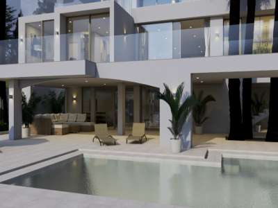 Image 10 | 5 bedroom villa for sale with 1,321m2 of land, Cala Vinyes, South Western Mallorca, Mallorca 229089