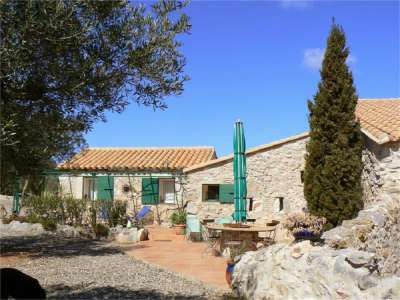 Image 1   4 bedroom farmhouse for sale with 5 hectares of land, Salses le chateau, Corbieres, Aude , Languedoc-Roussillon 229211