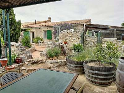 Image 4   4 bedroom farmhouse for sale with 5 hectares of land, Salses le chateau, Corbieres, Aude , Languedoc-Roussillon 229211