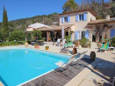 Image 3   4 bedroom villa for sale with 0.25 hectares of land, Callian, Var , Cote d'Azur French Riviera 229262