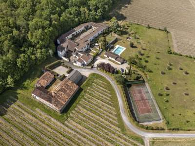 Image 4   15 bedroom house for sale with 4.05 hectares of land, Cognac, Charente , Poitou-Charentes 229529