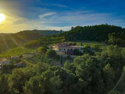Image 1   5 bedroom villa for sale with 6.73 hectares of land, Sobrado E Bairros, CASTELO DE PAIVA, Aveiro District, Central Portugal 229536