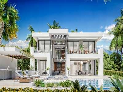 Image 1 | 4 bedroom villa for sale with 1,103m2 of land, Estepona, Malaga Costa del Sol, Andalucia 229617