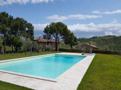 Image 14 | 3 bedroom apartment for sale with 550m2 of land, Volterra, Pisa, Tuscany 229636