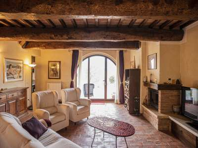 Image 7 | 3 bedroom apartment for sale with 550m2 of land, Volterra, Pisa, Tuscany 229636