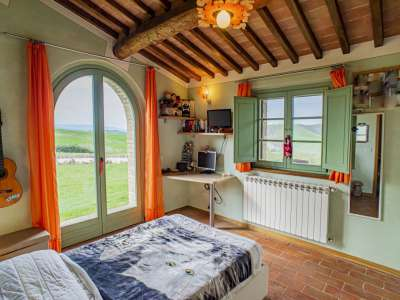 Image 8 | 3 bedroom apartment for sale with 550m2 of land, Volterra, Pisa, Tuscany 229636