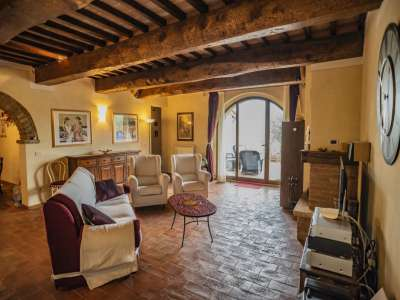 Image 9 | 3 bedroom apartment for sale with 550m2 of land, Volterra, Pisa, Tuscany 229636