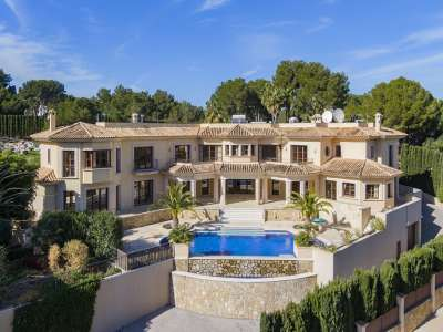 Image 1   6 bedroom villa for sale with 0.27 hectares of land, Sol de Mallorca, South Western Mallorca, Mallorca 229637