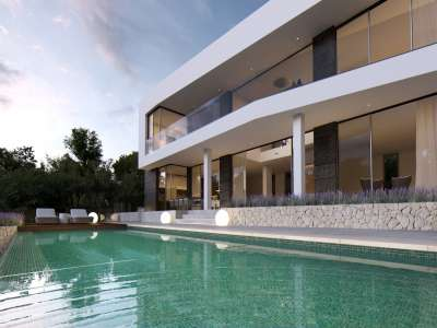 Image 1   4 bedroom villa for sale with 1,440m2 of land, Cala Vinyes, South Western Mallorca, Mallorca 229773