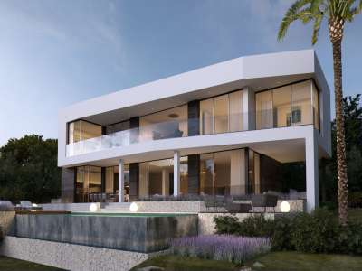 Image 2   4 bedroom villa for sale with 1,440m2 of land, Cala Vinyes, South Western Mallorca, Mallorca 229773