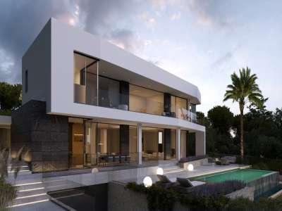 Image 3   4 bedroom villa for sale with 1,440m2 of land, Cala Vinyes, South Western Mallorca, Mallorca 229773