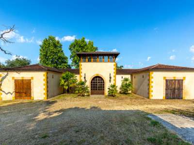 Image 3   5 bedroom house for sale with 14.92 hectares of land, Nogaro, Gers , Midi-Pyrenees 229801