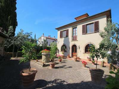 Image 1   5 bedroom villa for sale with 0.86 hectares of land, Montescudaio, Pisa, Tuscany 229853