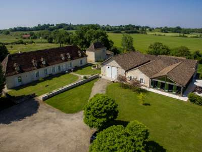 Image 1 | 11 bedroom manor house for sale with 94.89 hectares of land, Issigeac, Dordogne , Aquitaine 229955