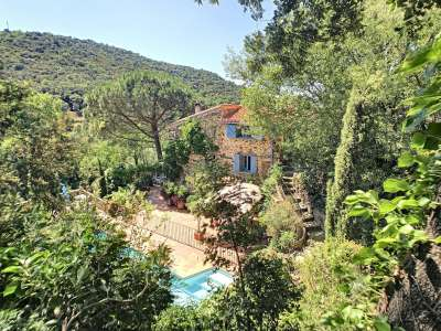 Image 2   5 bedroom house for sale with 4.6 hectares of land, Saint Michel de Llotes, Corbere, Pyrenees-Orientales , Languedoc-Roussillon 230019