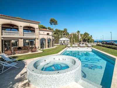 Image 1   8 bedroom villa for sale with 0.23 hectares of land, Cap d'Antibes, Antibes Juan les Pins, French Riviera 230072