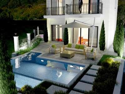 Image 2 | 3 bedroom house for sale with 417m2 of land, Rezevici, Budva, Coastal Montenegro 230114