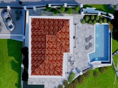 Image 6 | 3 bedroom house for sale with 417m2 of land, Rezevici, Budva, Coastal Montenegro 230114