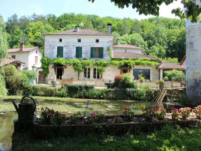 Image 1 | 13 bedroom mill for sale with 3.06 hectares of land, Bourdeilles, Dordogne , Dordogne Perigord Vert 230179