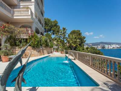 Image 2   9 bedroom villa for sale with 1,430m2 of land, Cala Vinyes, South Western Mallorca, Mallorca 230180