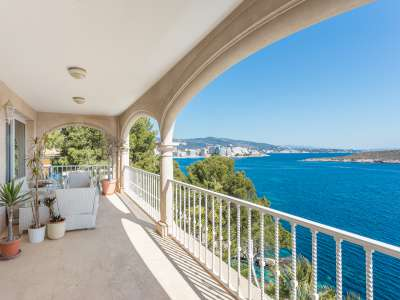 Image 4   9 bedroom villa for sale with 1,430m2 of land, Cala Vinyes, South Western Mallorca, Mallorca 230180