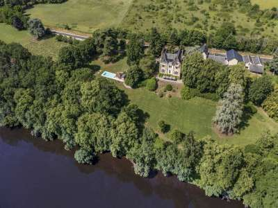 Image 1   10 bedroom French chateau for sale with 7.31 hectares of land, La Roche Posay, Chatellerault, Vienne , Poitou-Charentes 230247