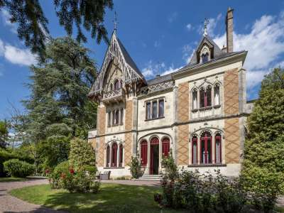 Image 2   10 bedroom French chateau for sale with 7.31 hectares of land, La Roche Posay, Chatellerault, Vienne , Poitou-Charentes 230247
