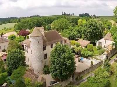 Image 1   6 bedroom French chateau for sale with 3.38 hectares of land, Sadillac, Bergerac, Dordogne , Aquitaine 230253