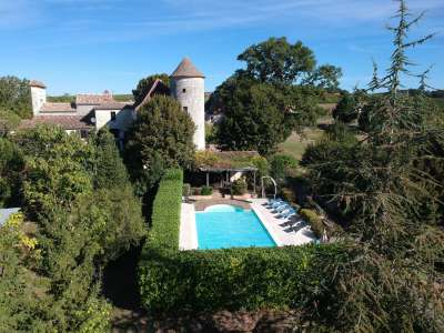 Image 21   6 bedroom French chateau for sale with 3.38 hectares of land, Sadillac, Bergerac, Dordogne , Aquitaine 230253