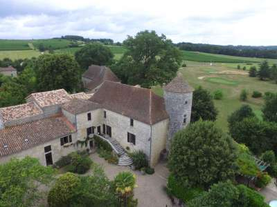 Image 3   6 bedroom French chateau for sale with 3.38 hectares of land, Sadillac, Bergerac, Dordogne , Aquitaine 230253