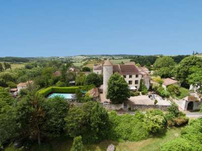 Image 5   6 bedroom French chateau for sale with 3.38 hectares of land, Sadillac, Bergerac, Dordogne , Aquitaine 230253