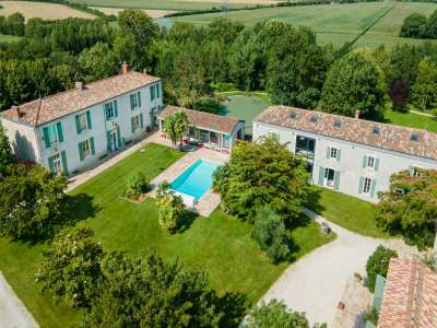 Image 1 | 9 bedroom manor house for sale with 5.05 hectares of land, Saint Xandre, La Rochelle, Charente-Maritime , Poitou-Charentes 230278