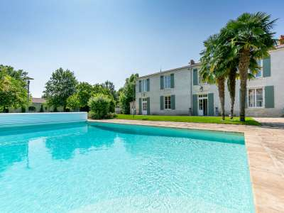 Image 9 | 9 bedroom manor house for sale with 5.05 hectares of land, Saint Xandre, La Rochelle, Charente-Maritime , Poitou-Charentes 230278