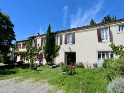 Image 1 | 7 bedroom farmhouse for sale with 60.98 hectares of land, Carcassonne, Aude , Languedoc-Roussillon 230924