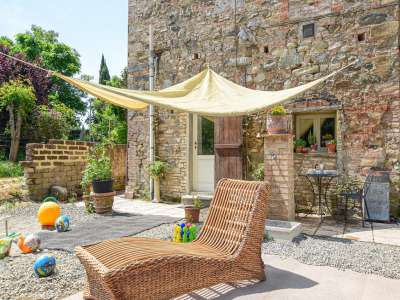 Image 1 | 2 bedroom mill for sale with 2,000m2 of land, Chianni, Pisa, Tuscany 230951