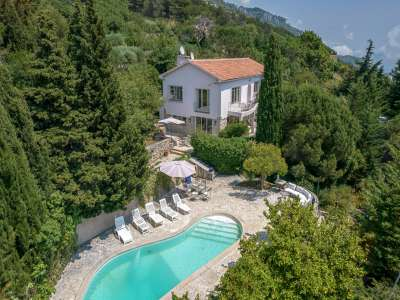 Image 1   5 bedroom villa for sale with 0.27 hectares of land, La Turbie, Eze Cap d'Ail, French Riviera 231348
