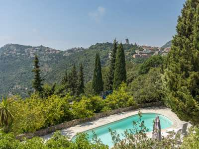 Image 2   5 bedroom villa for sale with 0.27 hectares of land, La Turbie, Eze Cap d'Ail, French Riviera 231348