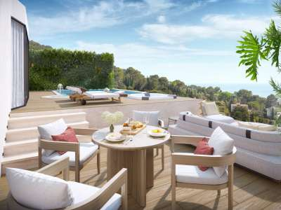 Image 2 | 3 bedroom penthouse for sale, Le Cannet, Cannes, French Riviera 231355